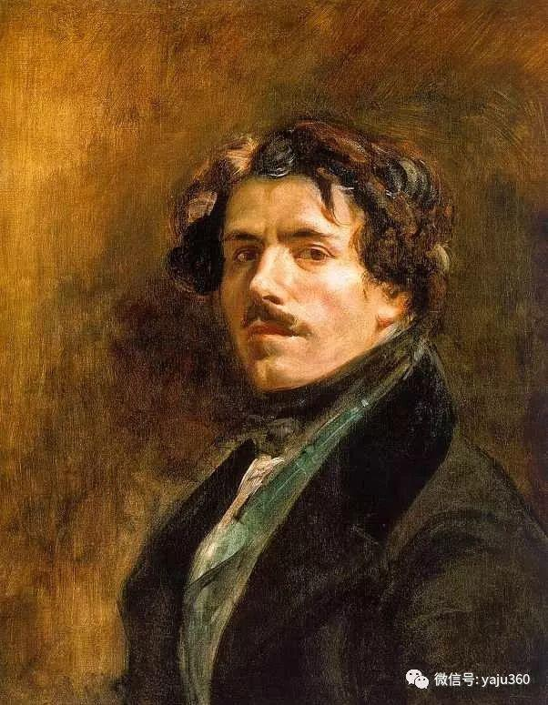 油画世界:法国画家Eugène Delacroix油画作品欣赏插图95