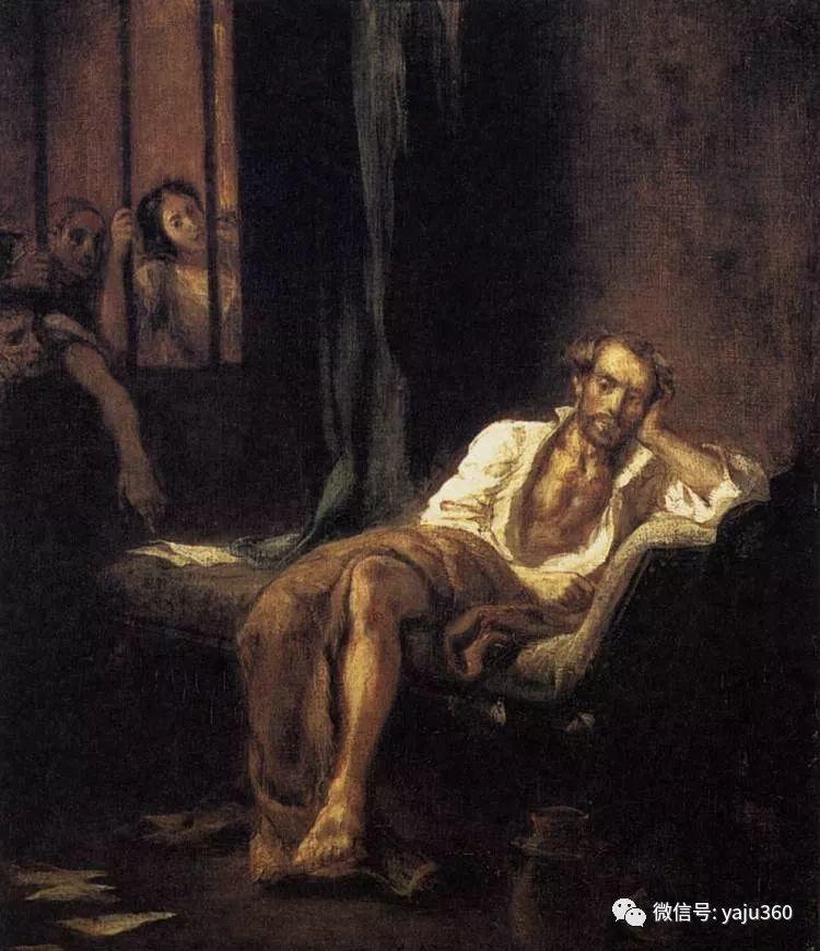 油画世界:法国画家Eugène Delacroix油画作品欣赏插图97