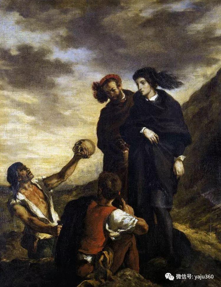 油画世界:法国画家Eugène Delacroix油画作品欣赏插图101