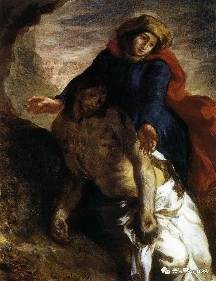 油画世界:法国画家Eugène Delacroix油画作品欣赏插图103