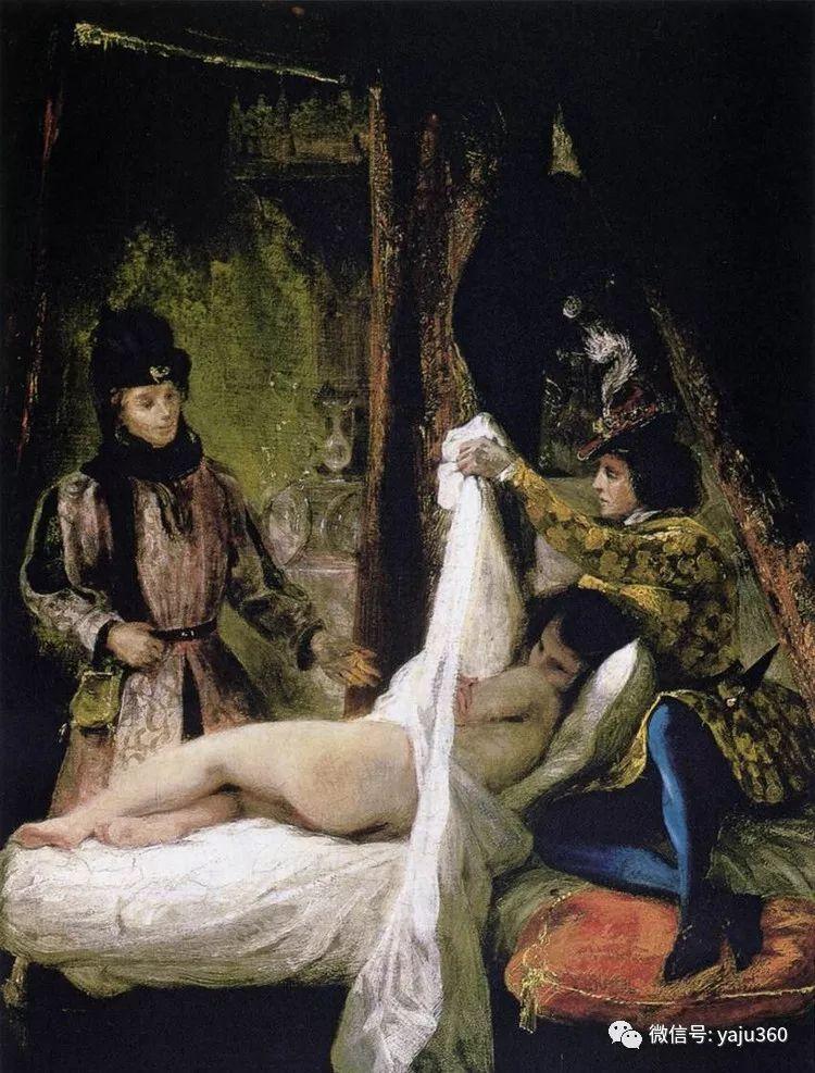 油画世界:法国画家Eugène Delacroix油画作品欣赏插图107