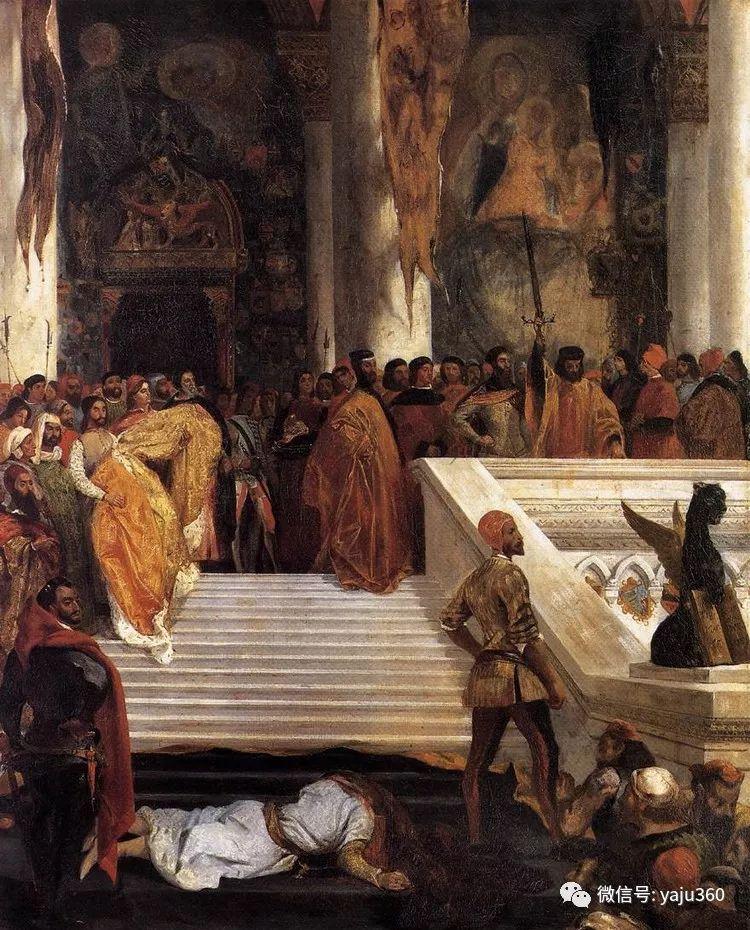 油画世界:法国画家Eugène Delacroix油画作品欣赏插图109
