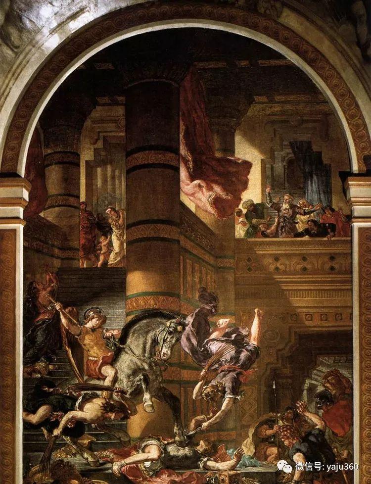 油画世界:法国画家Eugène Delacroix油画作品欣赏插图111