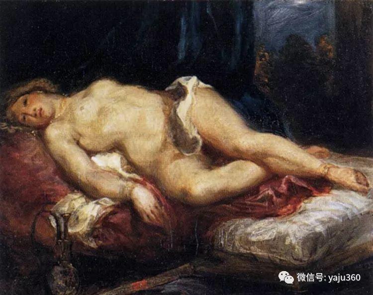 油画世界:法国画家Eugène Delacroix油画作品欣赏插图113