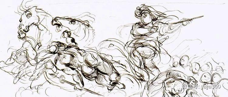 油画世界:法国画家Eugène Delacroix油画作品欣赏插图117