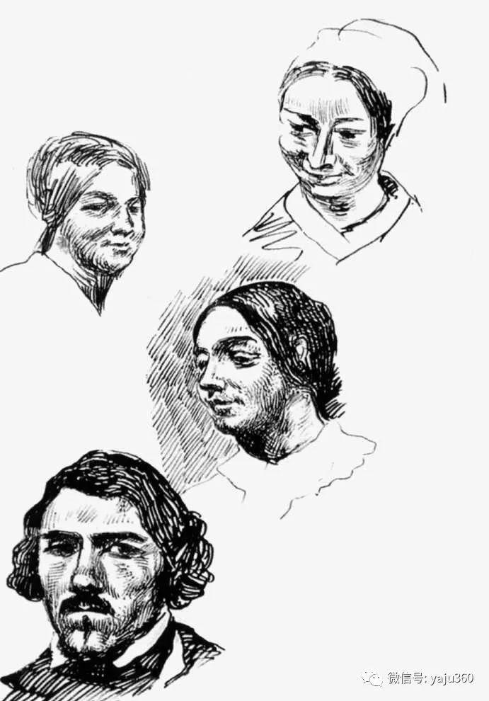油画世界:法国画家Eugène Delacroix油画作品欣赏插图123