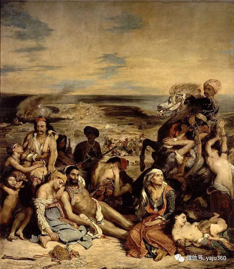 油画世界:法国画家Eugène Delacroix油画作品欣赏插图127