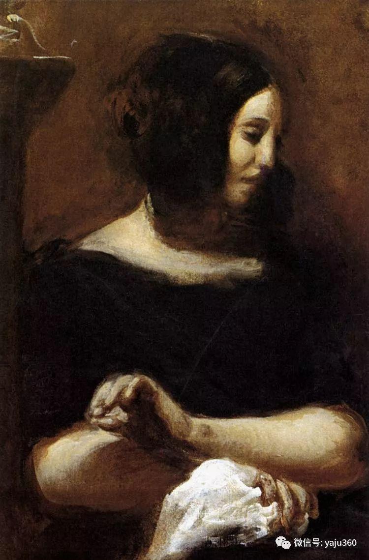 油画世界:法国画家Eugène Delacroix油画作品欣赏插图129