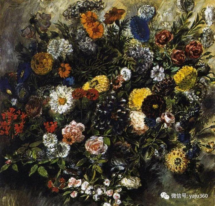 油画世界:法国画家Eugène Delacroix油画作品欣赏插图133
