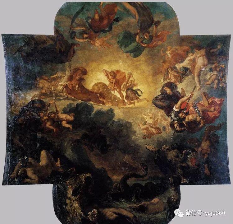 油画世界:法国画家Eugène Delacroix油画作品欣赏插图135