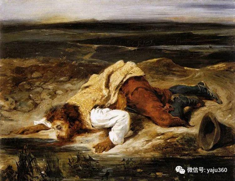油画世界:法国画家Eugène Delacroix油画作品欣赏插图137
