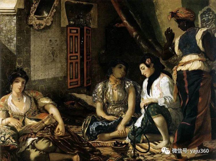 油画世界:法国画家Eugène Delacroix油画作品欣赏插图141