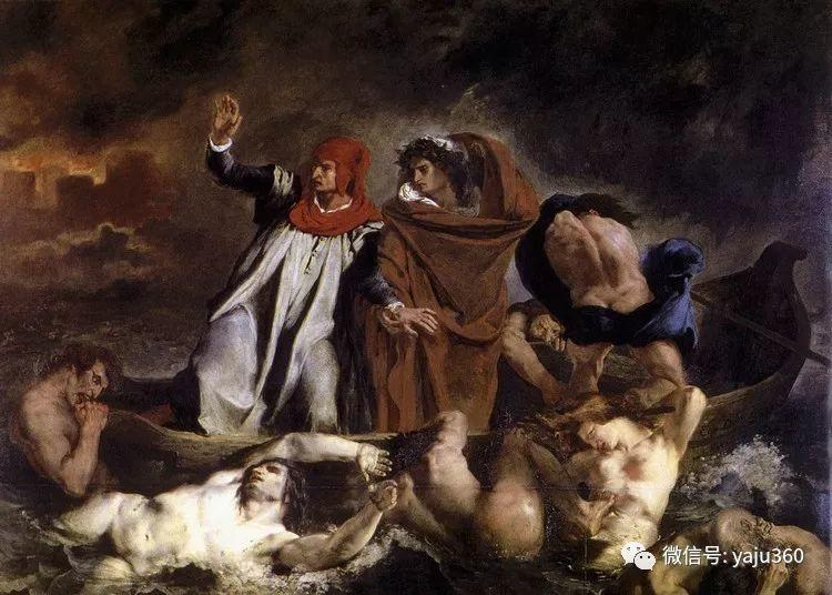 油画世界:法国画家Eugène Delacroix油画作品欣赏插图143