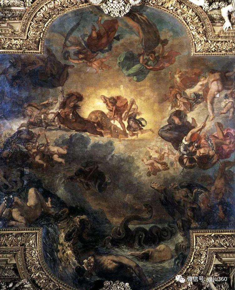 油画世界:法国画家Eugène Delacroix油画作品欣赏插图147