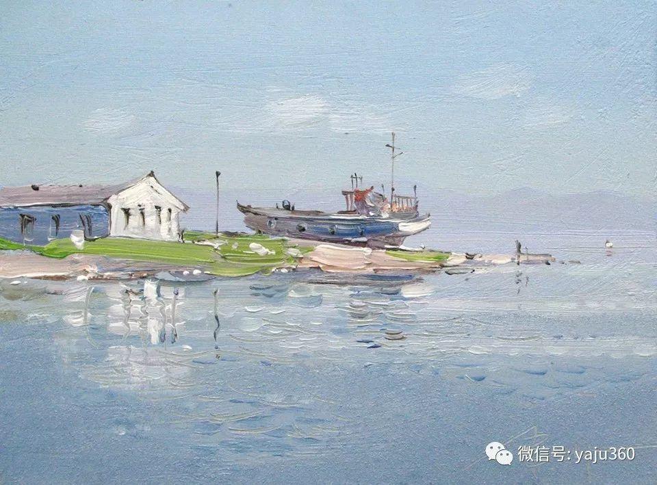 油画世界:俄罗斯的雪景油画欣赏插图6