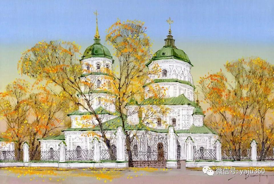 油画世界:俄罗斯的雪景油画欣赏插图18