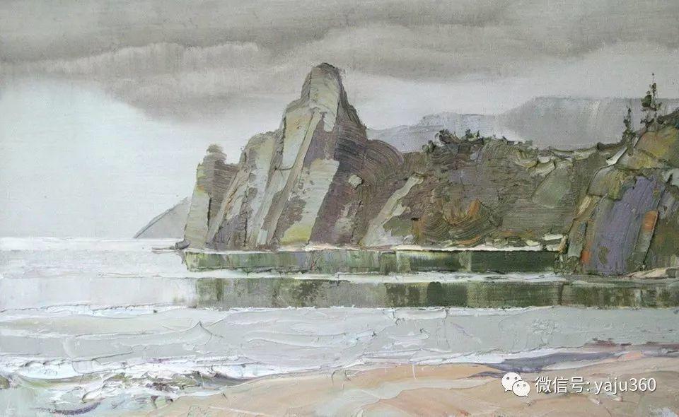 油画世界:俄罗斯的雪景油画欣赏插图32