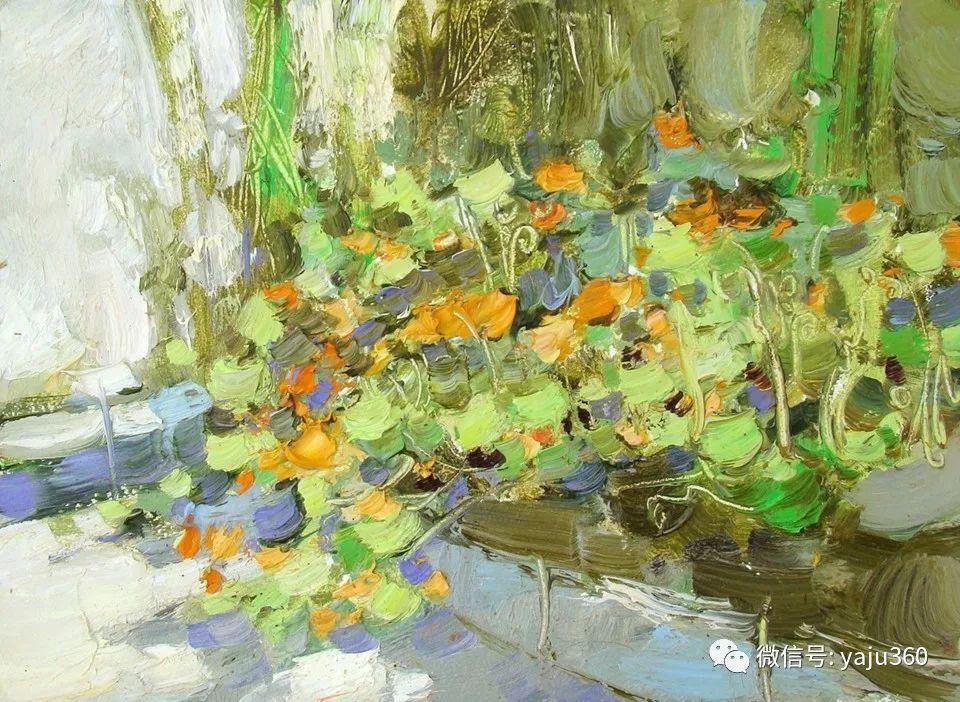 油画世界:俄罗斯的雪景油画欣赏插图35