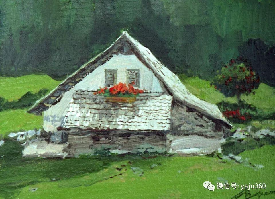 油画世界:俄罗斯的雪景油画欣赏插图37