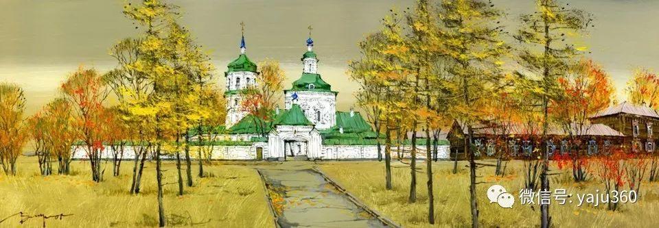 油画世界:俄罗斯的雪景油画欣赏插图84