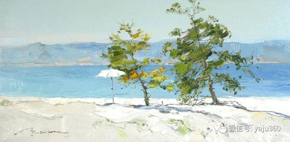 油画世界:俄罗斯的雪景油画欣赏插图96
