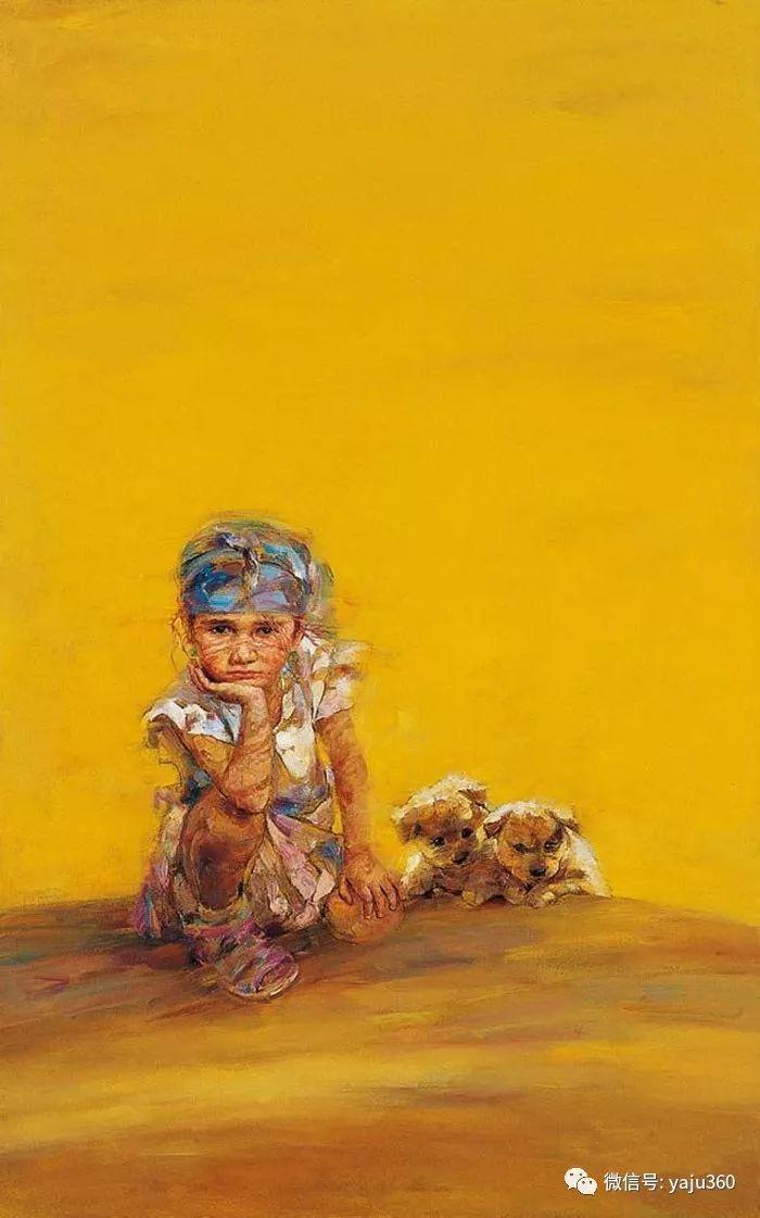"""油画世界:十年构思而成的""""高原画卷""""插图27"""