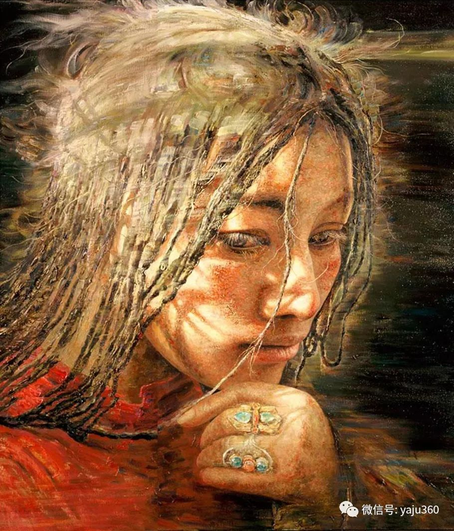 """油画世界:十年构思而成的""""高原画卷""""插图33"""