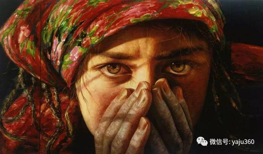 """油画世界:十年构思而成的""""高原画卷""""插图67"""