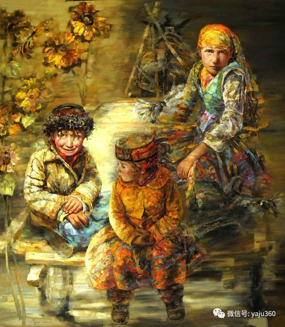 """油画世界:十年构思而成的""""高原画卷""""插图69"""