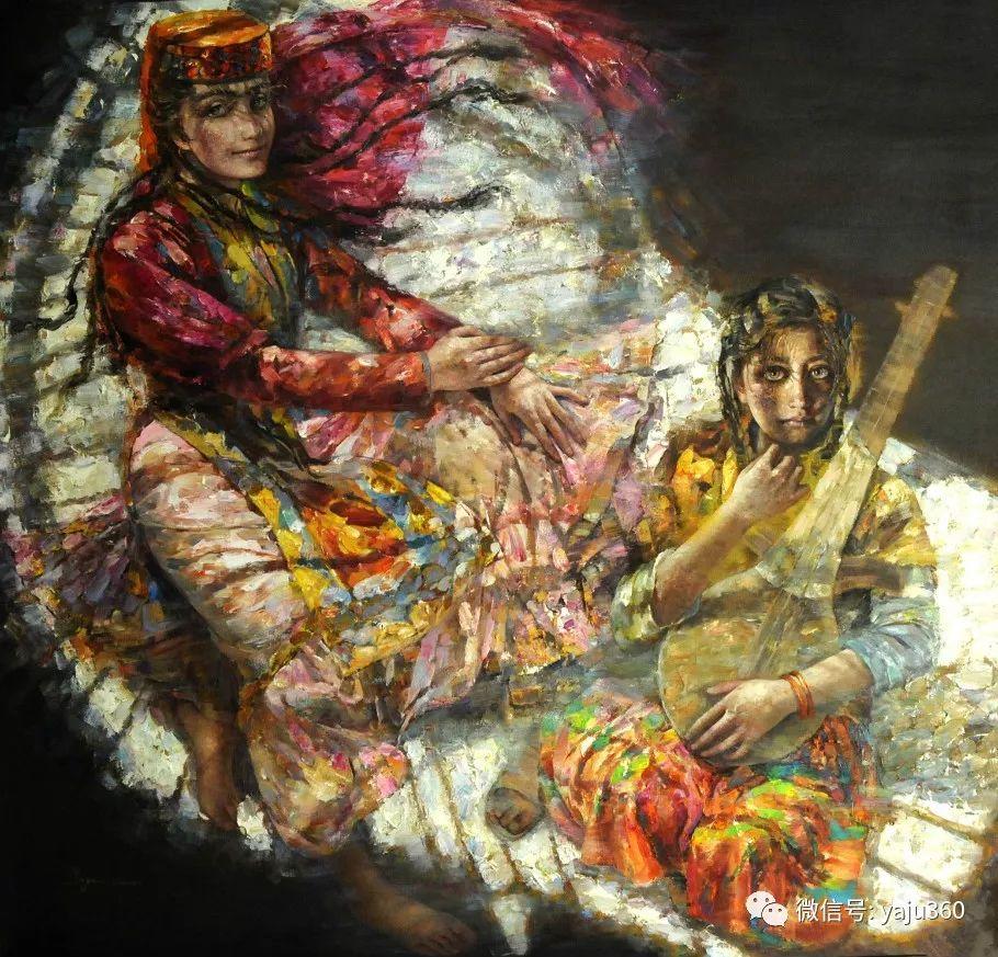 """油画世界:十年构思而成的""""高原画卷""""插图71"""