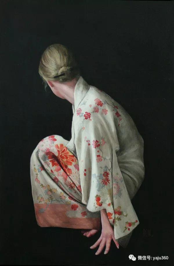 英国Stephanie Rew人物绘画插图15