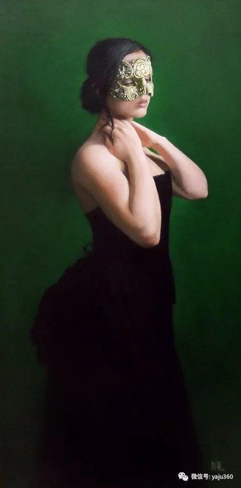 英国Stephanie Rew人物绘画插图25