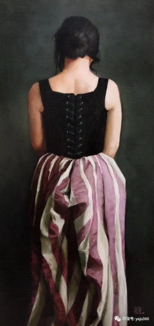 英国Stephanie Rew人物绘画插图33