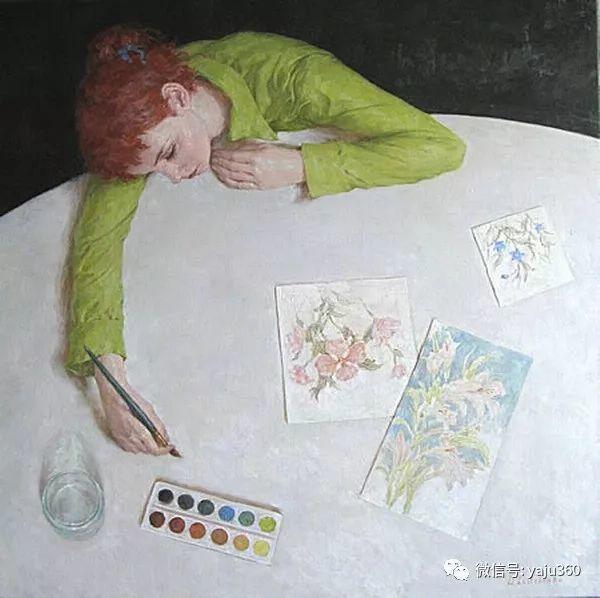 俄罗斯德米特里·李西什柯(Dmitriy Lisichenko)油画作品插图35