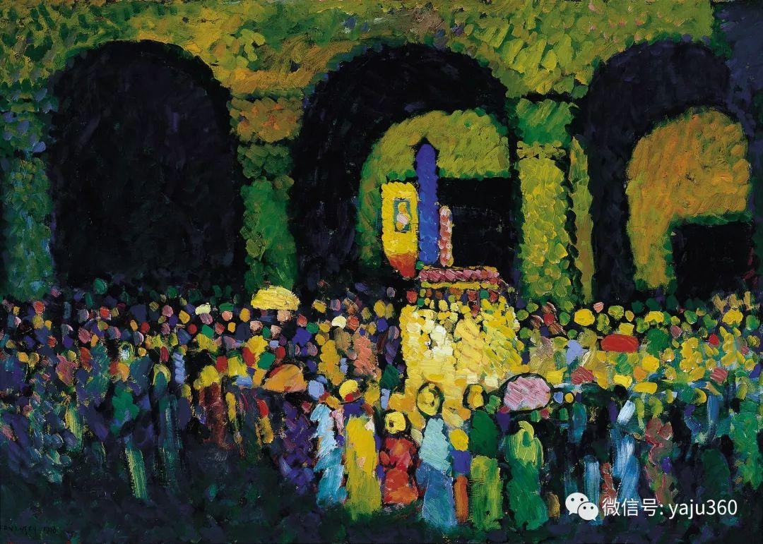 世界著名画家之康定斯基插图30