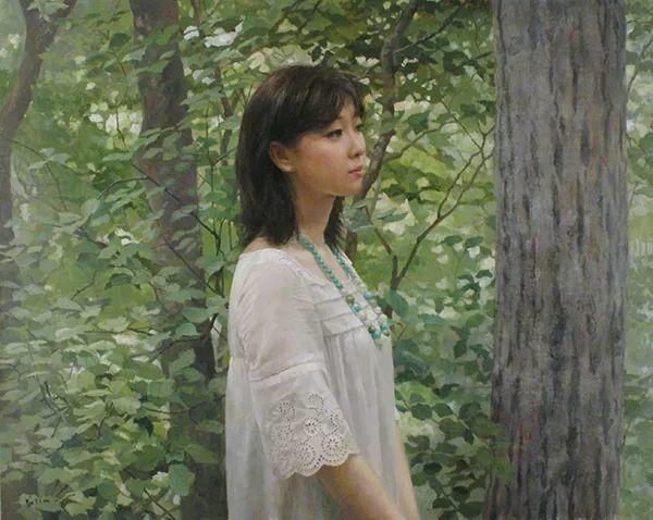 油画世界:木原和敏油画作品欣赏插图5