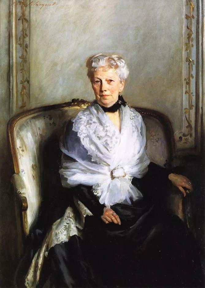 美John Singer Sargent肖像油画欣赏二插图1