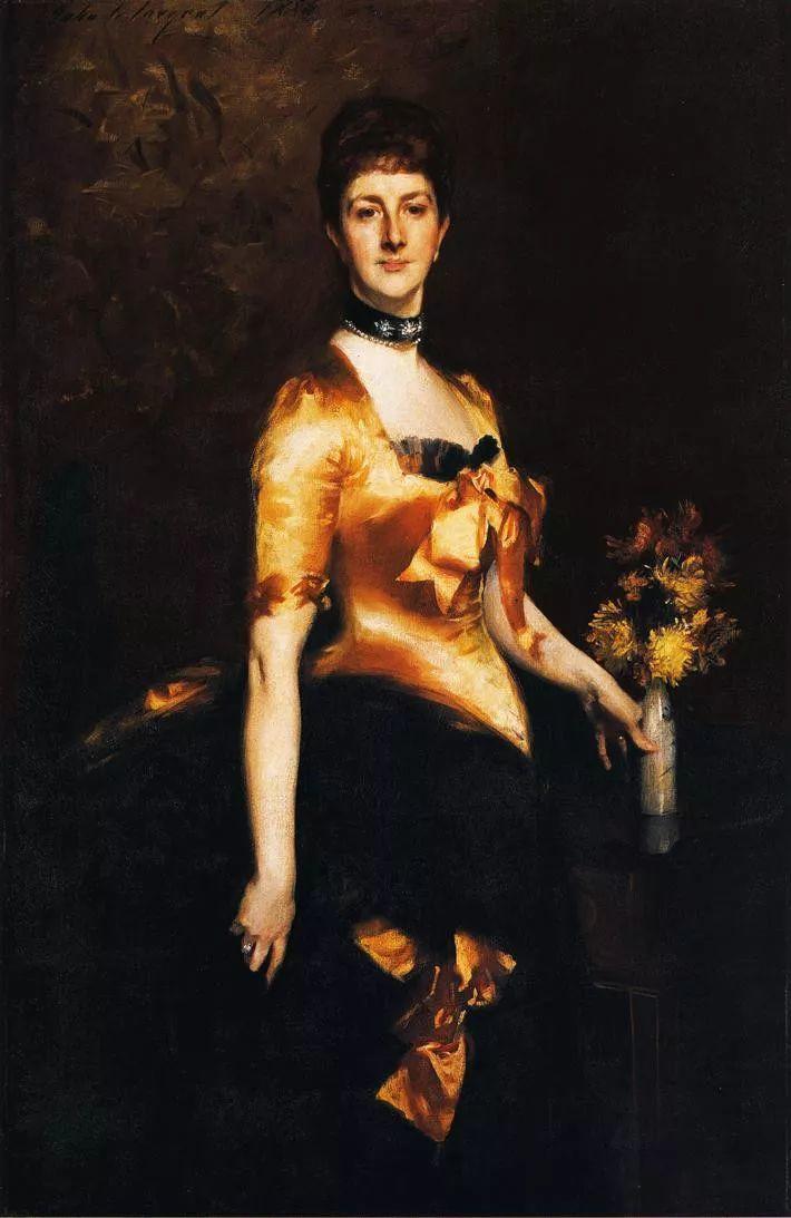 美John Singer Sargent肖像油画欣赏二插图11
