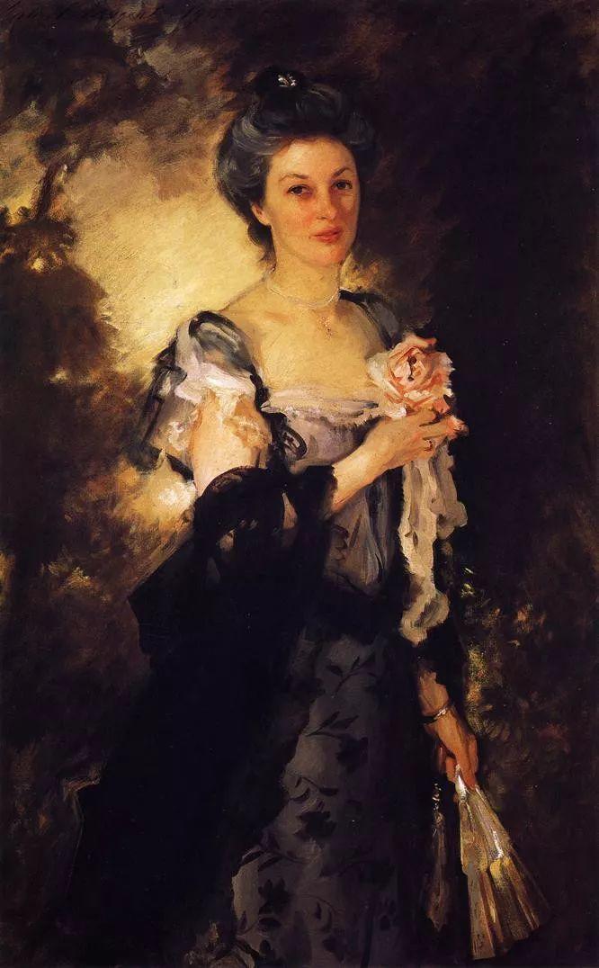 美John Singer Sargent肖像油画欣赏二插图13