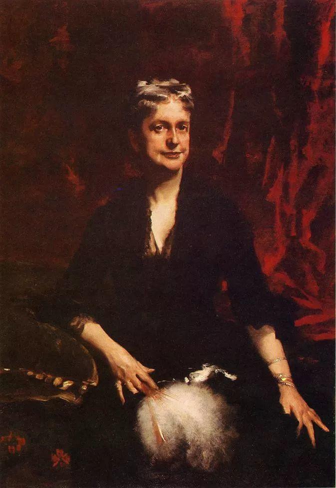 美John Singer Sargent肖像油画欣赏二插图15