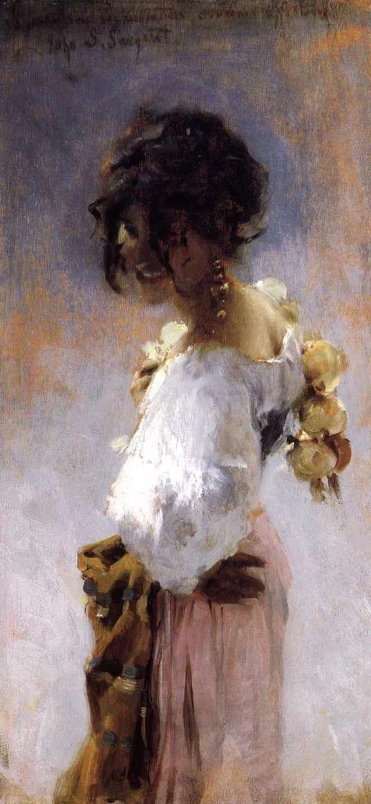 美John Singer Sargent肖像油画欣赏二插图17