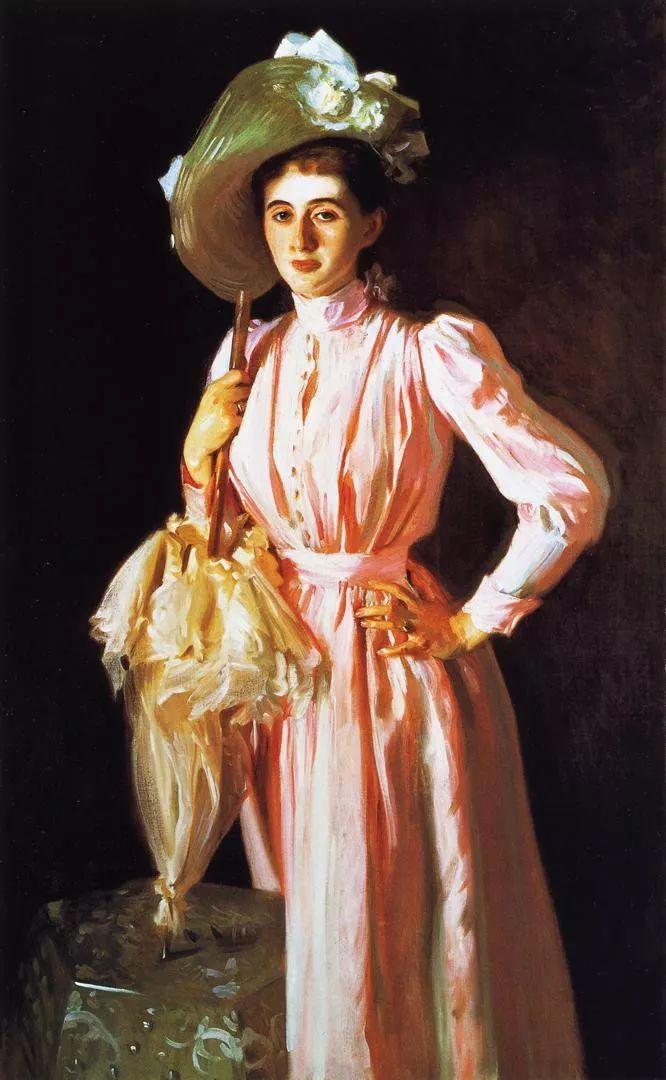 美John Singer Sargent肖像油画欣赏二插图19