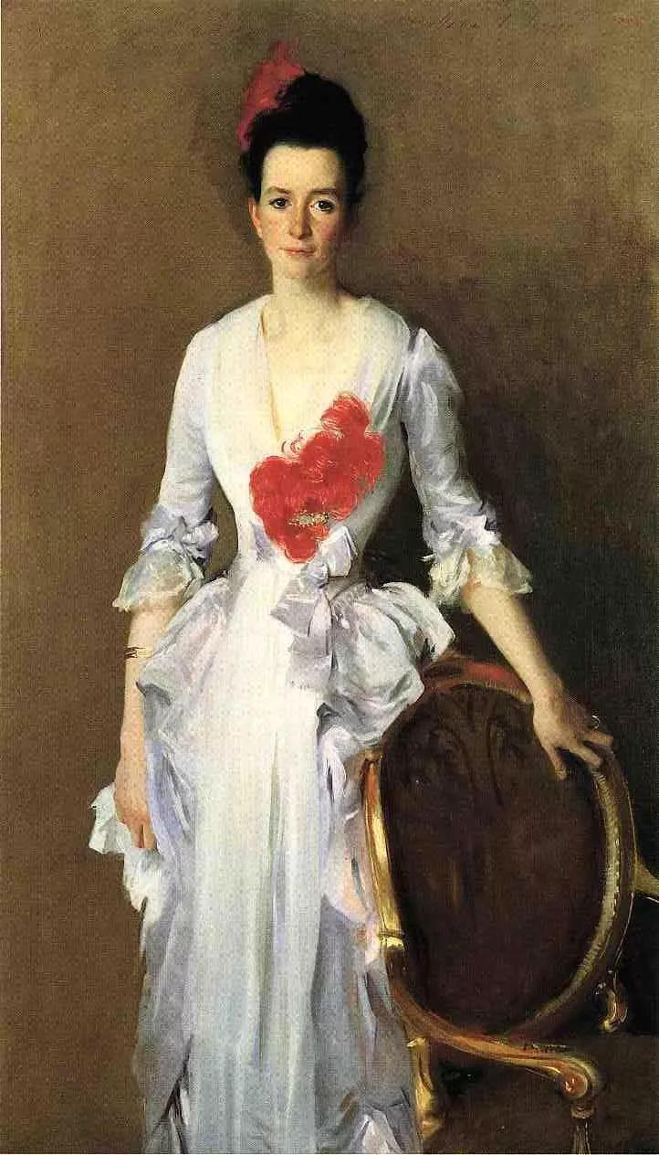 美John Singer Sargent肖像油画欣赏二插图21