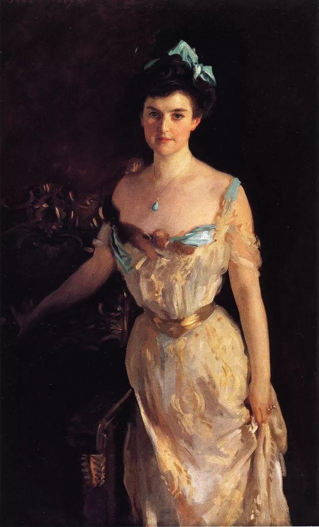 美John Singer Sargent肖像油画欣赏二插图25