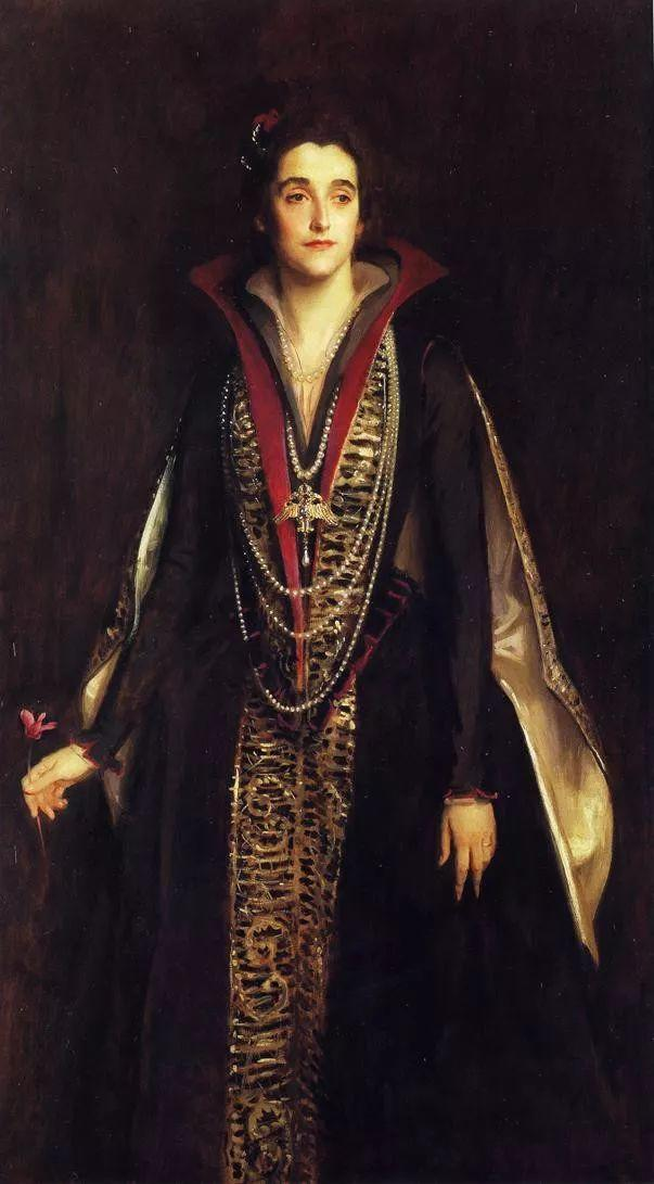 美John Singer Sargent肖像油画欣赏二插图27