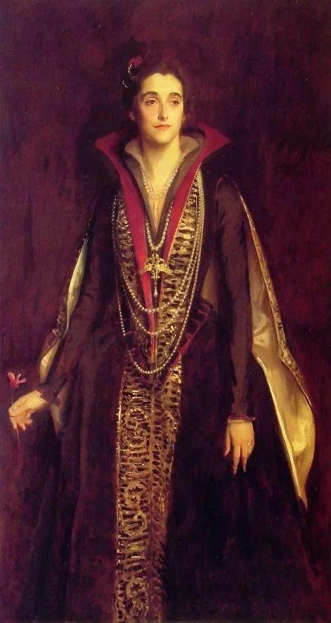 美John Singer Sargent肖像油画欣赏二插图29