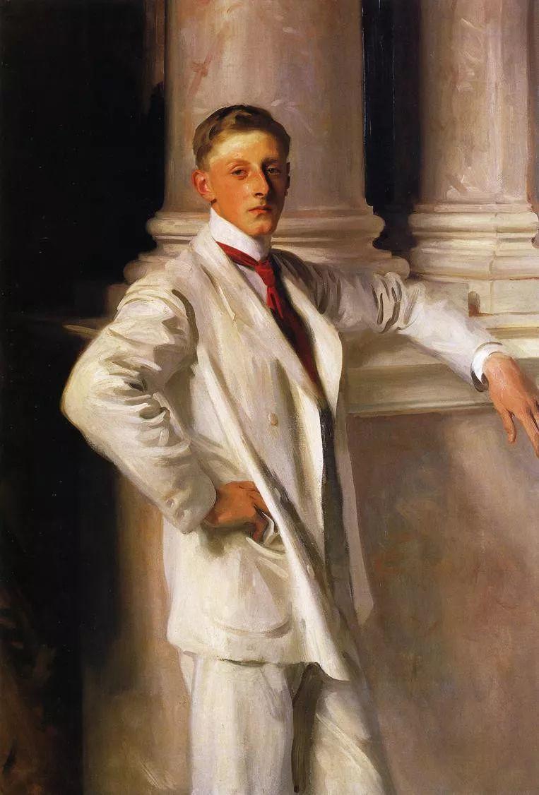美John Singer Sargent肖像油画欣赏二插图31