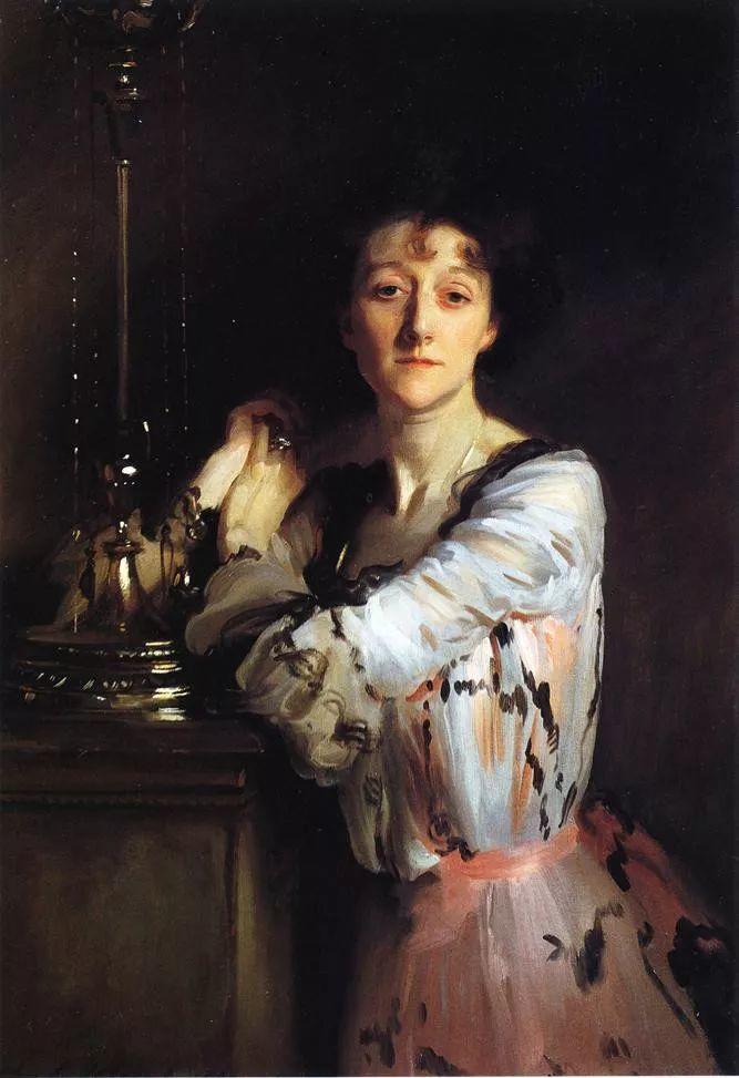 美John Singer Sargent肖像油画欣赏二插图33