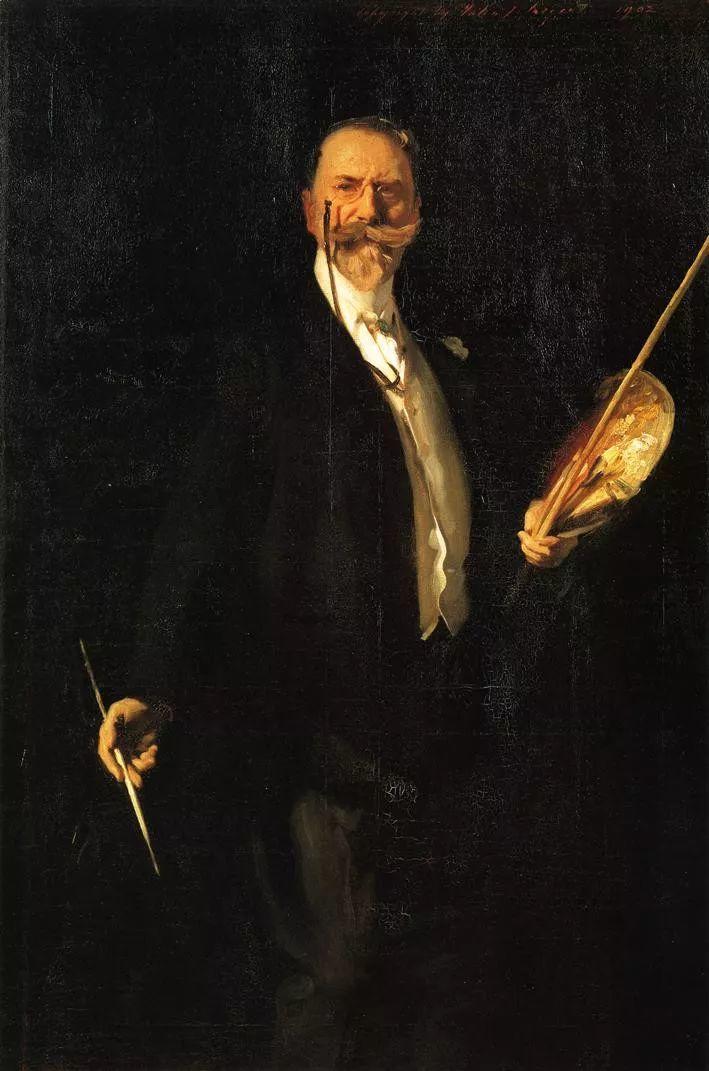 美John Singer Sargent肖像油画欣赏二插图35