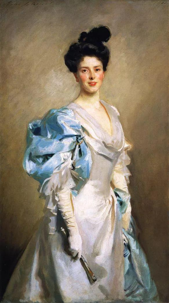 美John Singer Sargent肖像油画欣赏二插图39